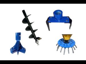 Anbaugeräte für Kegelspalter